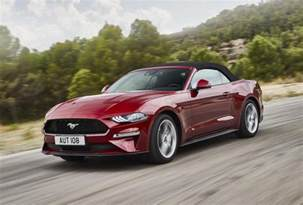 Ford Mustang 2018 Spec 2018 Ford Mustang Unveiled More Power For V8