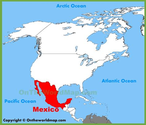 mexico america map where can i find a map of mexico