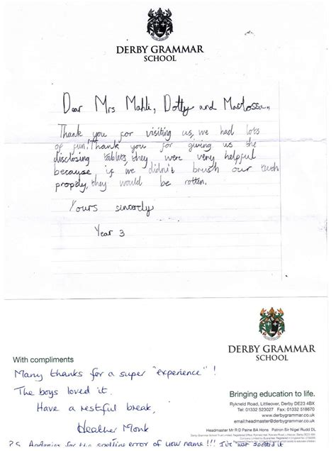 thank you letter after coffee meeting thank you letter 001 cavendish dental practice