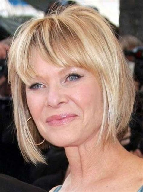 blunt cut hairstyles for women over 50 short haircut for older ladies the best short hairstyles