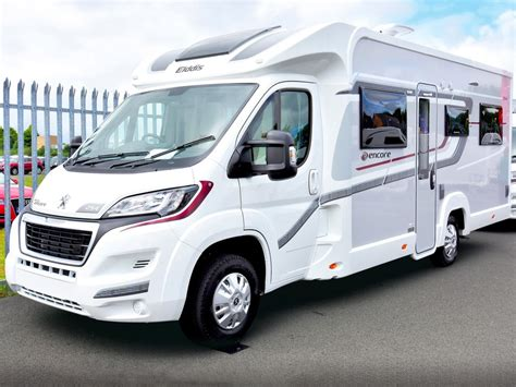 elddis encore  review elddis motorhomes practical