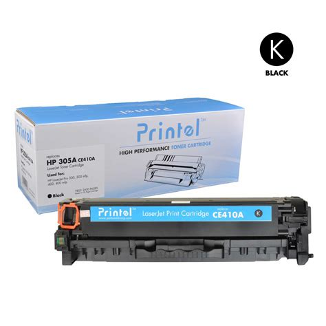 Sale Toner Hp Hp 305a Black Ce410a printel 174 brand new replacement toner cartridge for hp 305a ce410a black price 22 99