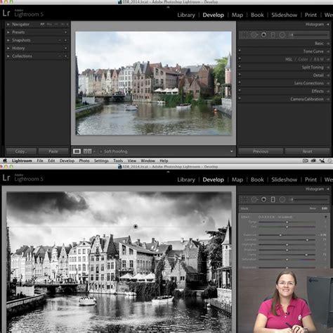 tutorial inicio lightroom converter fotos em preto e branco no lightroom