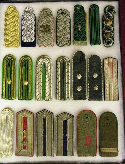 german imperial shoulder boards id germany imperial uniforms headwear insignia personal