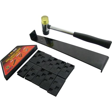 am tech wood laminate flooring installation fitting kit with tapping block ebay