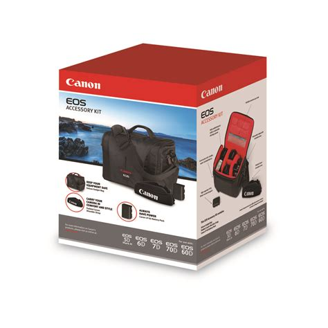 Aksesories Canon canon lp e6 accessory kit 70d 7d 5d 6d w bag 3347b007 how