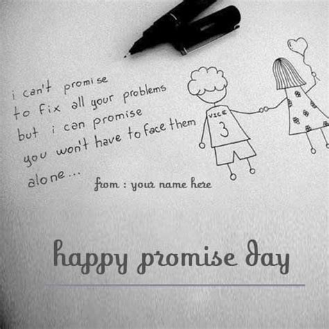 happy promise day wishes  friends  pics