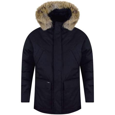 Nobi Navy nobis nobis navy heritage parka jacket from