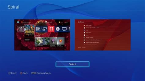 free ps4 themes uk see the eight new colours and free themes coming to ps4