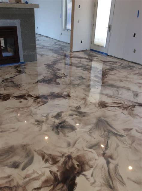 metallic epoxy floor coatings hudson valley epoxy flooring