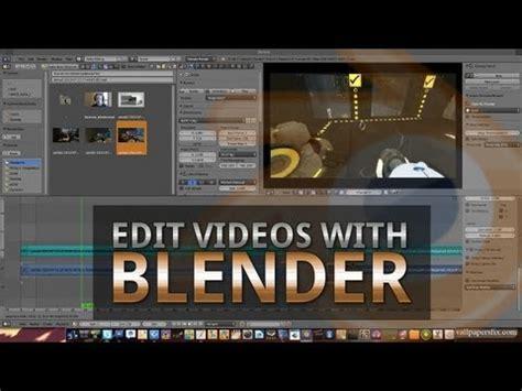 edit video with blender tutorial tutorial how to edit videos with blender youtube