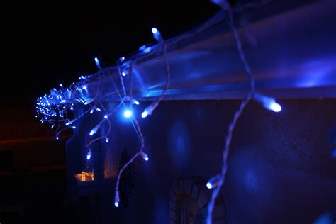 twinkling led icicle christmas lights by philips flickr