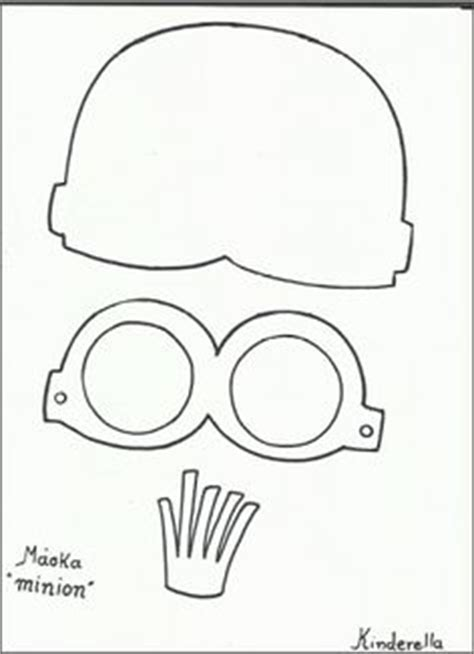 minion cutout template 1000 ideas about minion template on minion