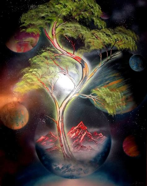 spray painting nature 39 best class outer space project images on