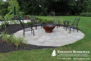 How To Build A Pea Gravel Patio Flagstone Patio For Fire Pit Area In Lititz Pa