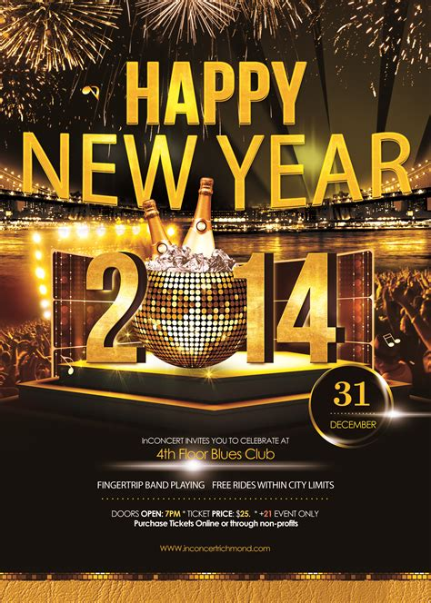 superstore new year flyer new year s at 4th floor blues club go wayne county