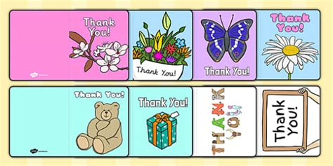 Thank You Card Writing Template Blank Editable Card Templates Thank You Letter Template Twinkl