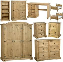 pine bedroom furniture corona mexican pine bedroom furniture dressing table bed wardrobe drawers ebay