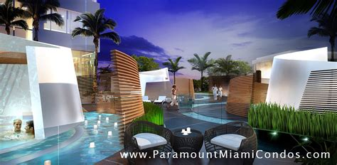 Miami Apartments Usa Paramount Miami Worldcenter Features And Amenities