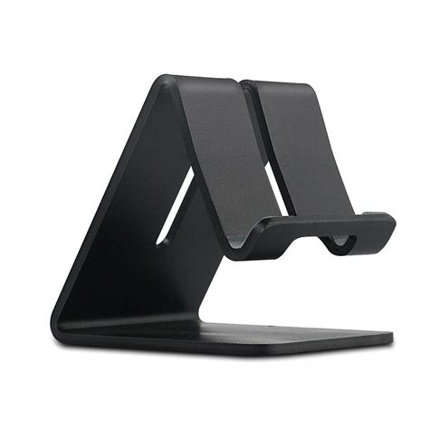 universal aluminum mobile phone tablet desk holder stand