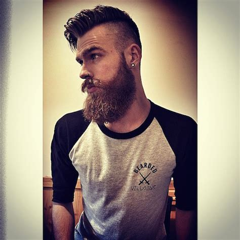 hairstyles high fade with beard 22 cool beards and hairstyles for men
