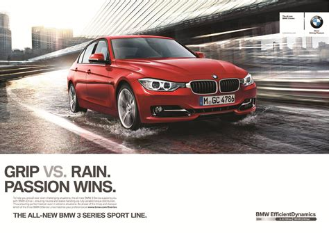 bmw advertisement ad caign for the new bmw 3 series