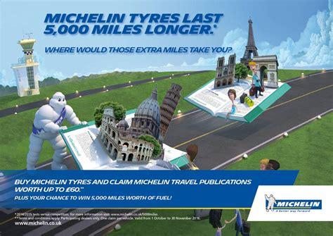 Michelin Fuel Gift Card - latest news ian brown tyres