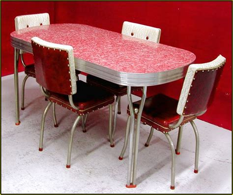 1950 Kitchen Furniture Retro Kitchen Table And Chairs Canada Home Design Ideas