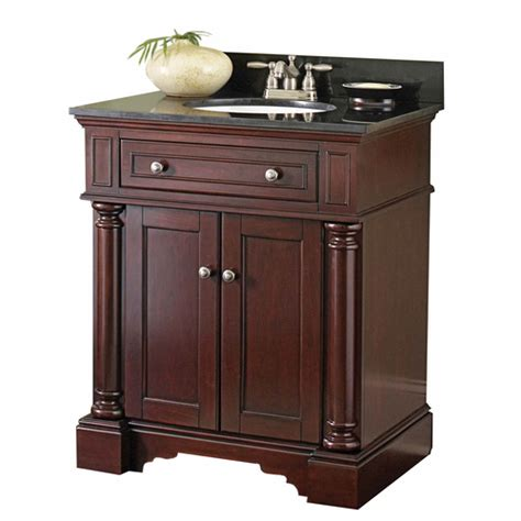 lowes allen roth auburn albain bath vanity with black