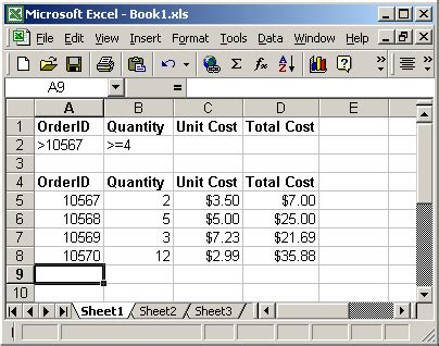 How Do You Use A Spreadsheet by Ms Excel How To Use The Dcount Function Ws