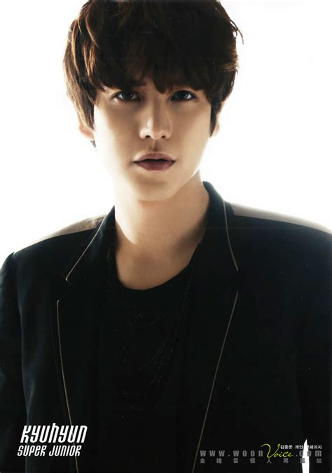 theme line super junior free 121025 kyuhyun in lotte duty free official 4p