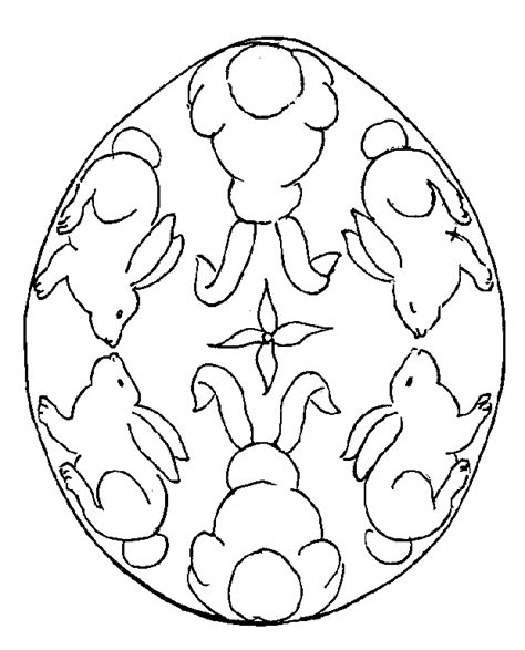 easter colouring easter egg colouring in