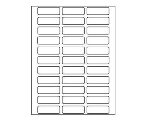 printable labels 2 x 3 inkjet laser printer labels round square 6 colors