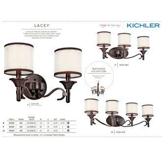 45283ap lacey 3lt vanity fixture antique pewter finish kichler 45283ap antique pewter lacey 3 light 22 quot wide