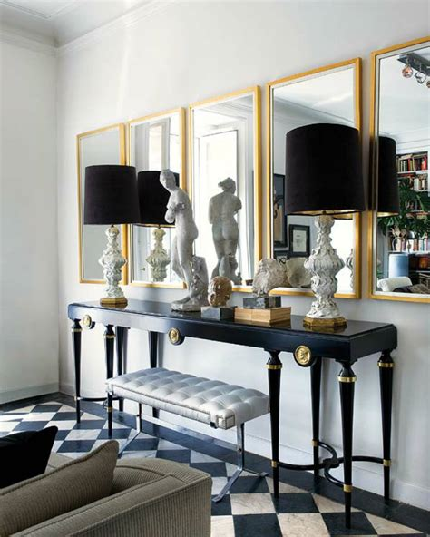 how to incorporate mirrors into your home decor