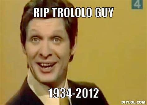 Mr Trololo Meme - r i p mr trololo picture ebaum s world