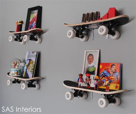 kinderzimmer mobel diy skateboard shelves diy kiddie stuff kinderzimmer