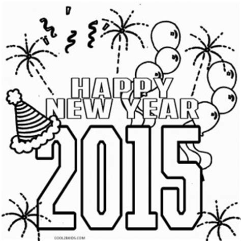 coloring pages for new years 2015 printable new years coloring pages for cool2bkids