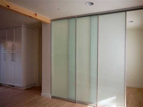 Interior Glass Sliding Doors Sliding Interior Glass Door System Contemporary Interior Doors Orange County By Moss Yaw