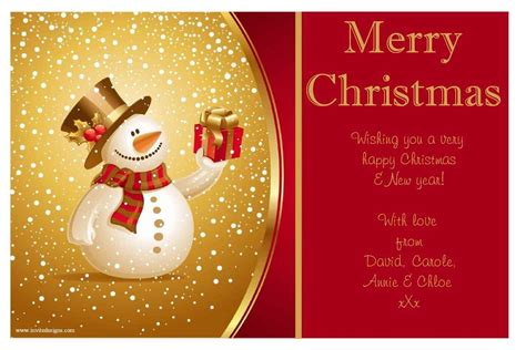 cheap personalized christmas cards merry christmas