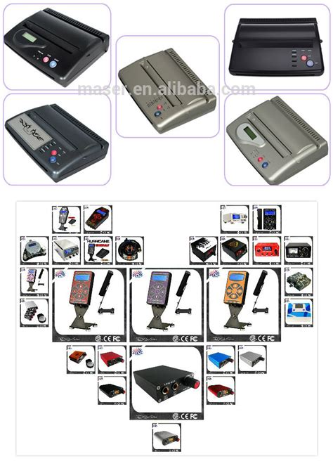 buy tattoo printer portable copier tattoo thermal copier machine stencil