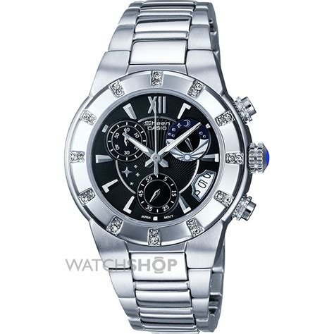 Casio Sheen Oribm Chrono casio sheen chronograph shn 5502d 1adr