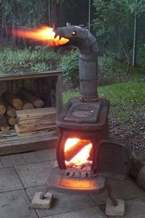 backyard dragon for the backyard fire breathing dragon stove fire pits pinterest