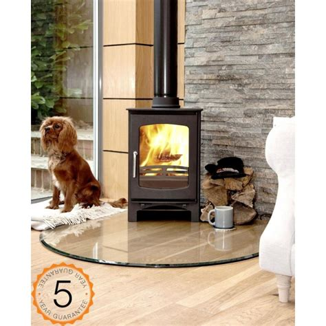 Contemporary Design Kitchen by Ecosy 5kw Curve Contemporary Wood Burning Stoves Multi