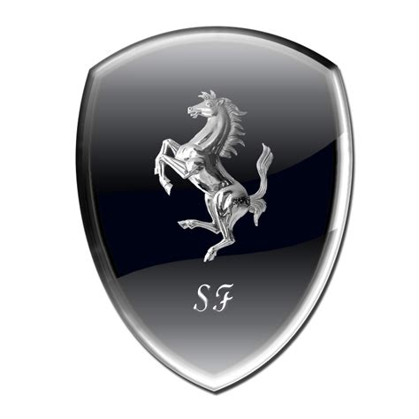 ferrari logo black and white vector 1000 ideas about ferrari logo on pinterest ferrari