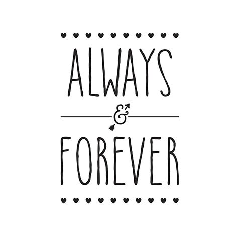 Forever In always and forever