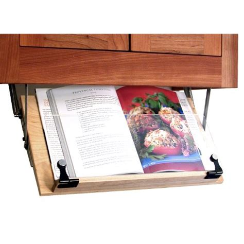 amazon com belkin kitchen cabinet tablet mount computers diy under cabinet cookbook or ipad shelf