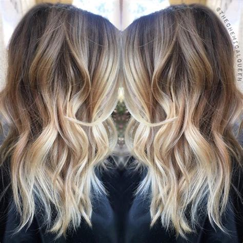 how to ombre shoulder length hair the 25 best ideas about medium length ombre hair on