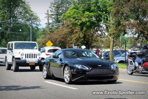 Aston Martin Connecticut by Aston Martin Vantage Spotted In Greenwich Connecticut On