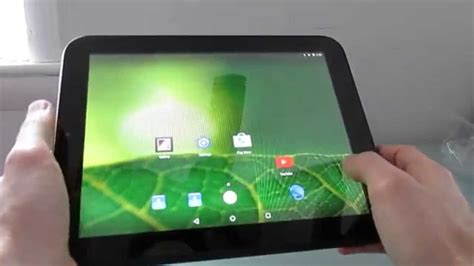 Hp Android Zu Pro 5 hp touchpad tablet with android 5 1 1